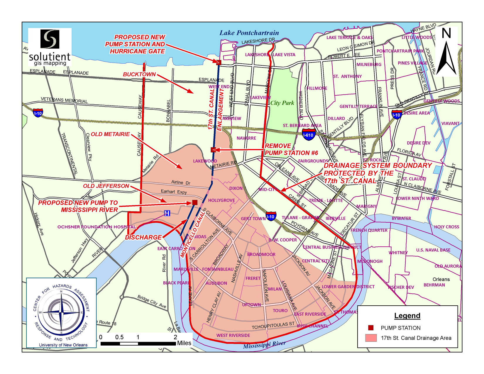Repetitive Flood Portal - Louisiana map with parishes